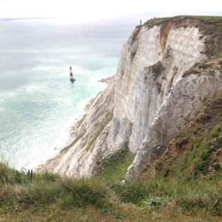 Beachy Head cliff and lighthouse