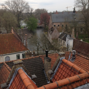 Bruges from above
