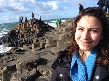 Selfie at Giants Causeway