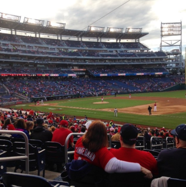 Nationals vs Marlins
