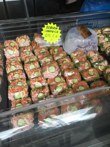 Bergen seafood sandwiches