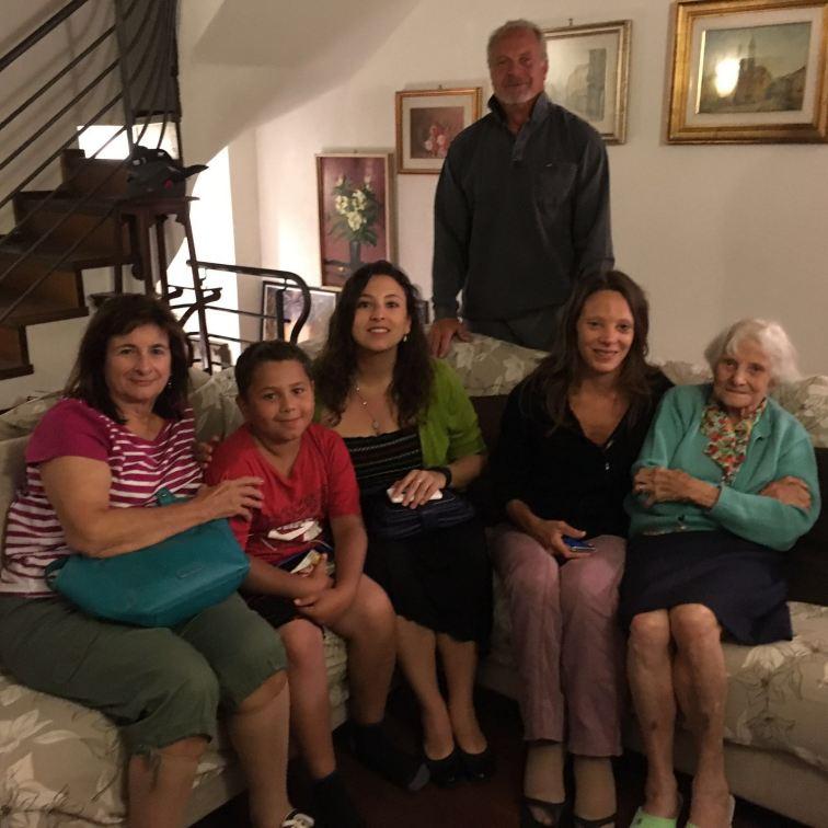 Family in Lugano