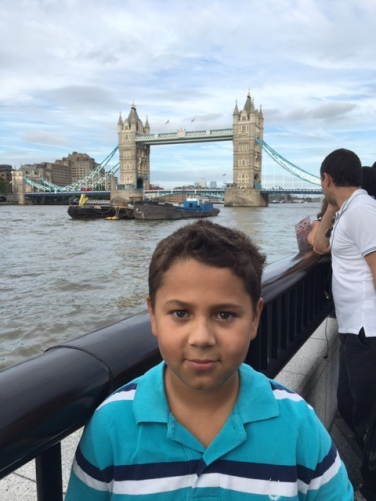 Markie at Tower Bridge