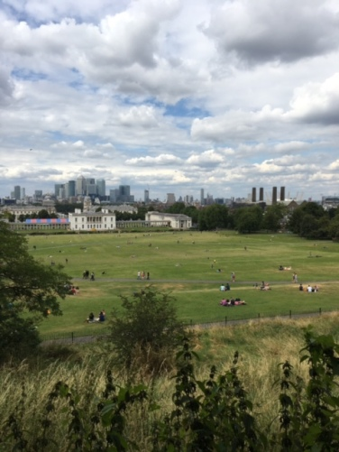Overlooking Greenwich
