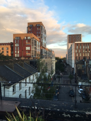 View from Dalston Roof Park