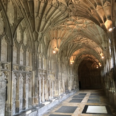 Hallway in Gloucester Cathedral