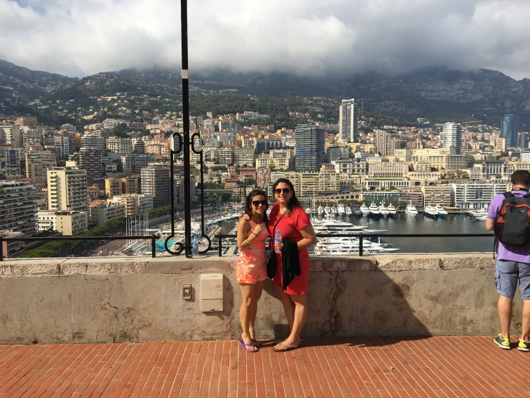 Sara and I in Monaco