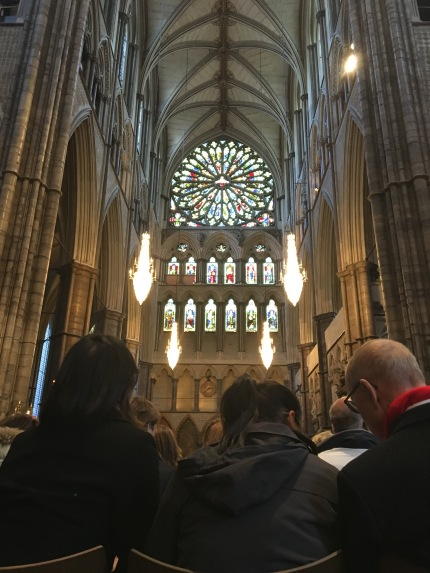 Inside Westminster Abbey