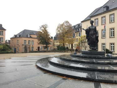Luxembourg City center